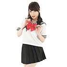 Sailor 2 (dark red ribbon) (L size).