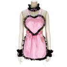 LOVE DE pink apron.