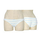 Stripe panties blue