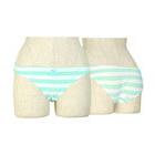 Stripe panties mint