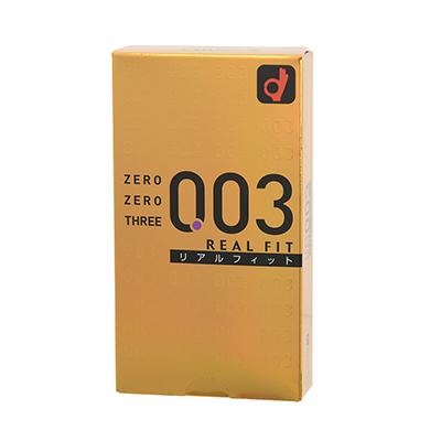 ゼロゼロスリー003・リアルフィット(10個入)