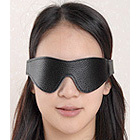 Leather Blindfold with Velcro Closure