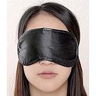 Le Boheme Satin Blindfold - Black
