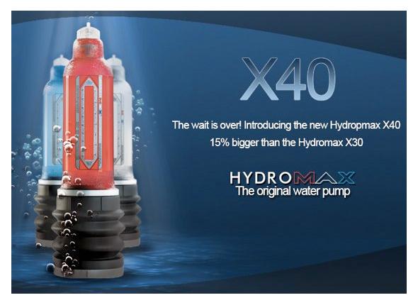 ハイドロマックス X40