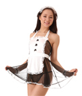 [Cos-Lin] See-through Maid Dress