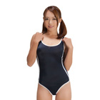 School Swimsuit 2 Lines (Navy)