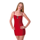Princess Short Dress Red