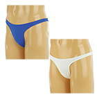 Plain Stretch Thong For Men