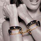 Fetish Fantasy Gold Cuffs