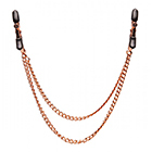 Copper Double Chain Nipple Clamps