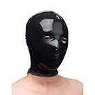Rubber Slave Hood - Black