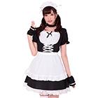Maid costume (Black)