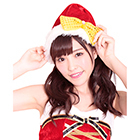 Gorgeous Ribbon Santa Cap