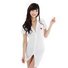 Front Zipper Nurse Costume