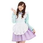Maid Uniform (Mint Green x Purple)