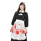Handprinted Maid Clothes