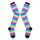 Rainbow Knee-high Socks