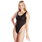 Super High-cut Leotard (Black)