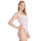 High-cut Leotard (White)