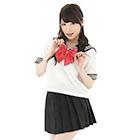 セーラー服2(えんじリボン)(Lサイズ)