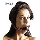 ZADO Leather Gag(ザド レザーギャグ レッド)