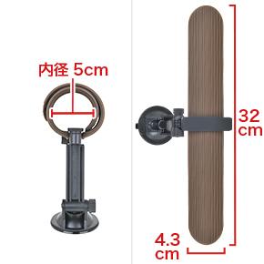 ワンタッチで巻き・伸ばしのできる、板バネ入りのシリコンバンドが特長。あまり締め付けられないのが弱点です。