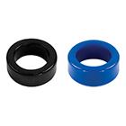 TitanMen Stretch-to-Fit Cock Ring- Blue(タイタンマンストレッチトゥーフィットコックリング)