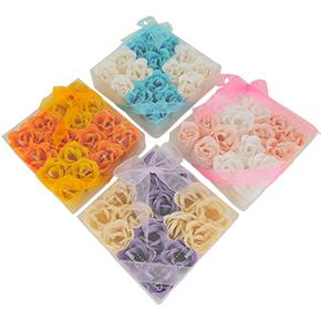 【16個入】こちらも8個ずつの2色パック。どれもパッケージにはリボンが付き、そのまま贈り物にもできそうですね。