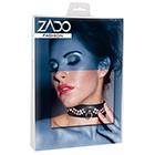 ZADO Leather Collar with Rhinestones(ザド レザーウィズラインストーンズ)