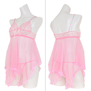 """【ピンク】6色の中では一番甘め。萌え萌え系の可愛い女性に似合うかも。淡いカラーは""""オカン化""""にご注意を。"""