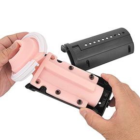 対応マシンへの装着も、取り出しインナーカップにハメ込んで戻すだけ…と簡単。慣れれば数十秒で作業できます。