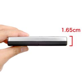 薄さ:1.65cm