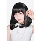 ぱっつんカールボブ(ブラック)