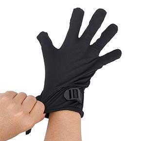 右手専用なのが残念ですが、五指を奥まで差し込み、手首をバンドで留めれば、無敵のフィンガーバイブが完成。