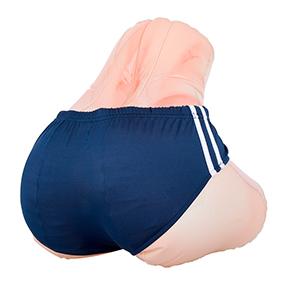 けっこう丸みのあるヒップなので、ブルマなんか似合いますね。お好みのパンツを穿かせて、ハァハァしましょう。