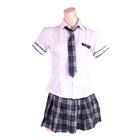 チェックスカートでつくる姉系トラッドスクール制服